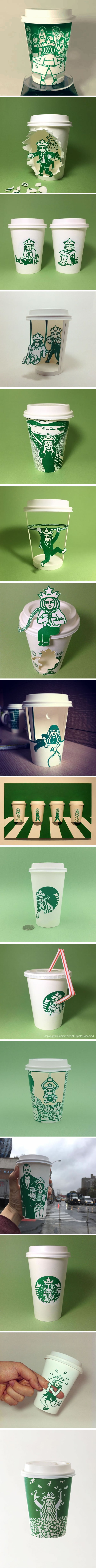 Artist Reveals The Mysterious Hidden Life Of Starbucks' Mermaid