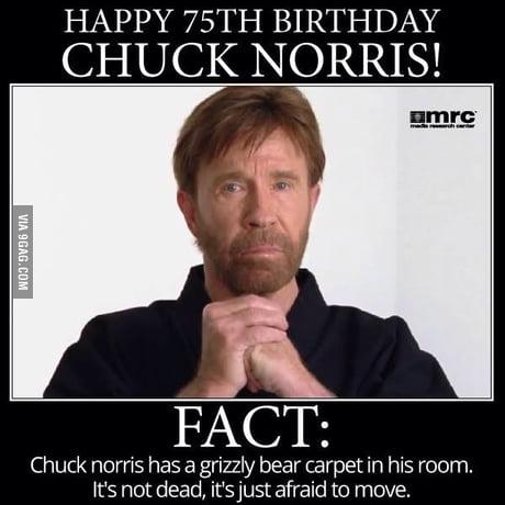 Happy Birthday Chuck Norris 9gag