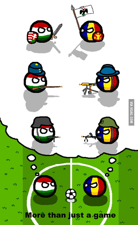 Countryballs Short 2 Hungary Vs Refugees Youtube