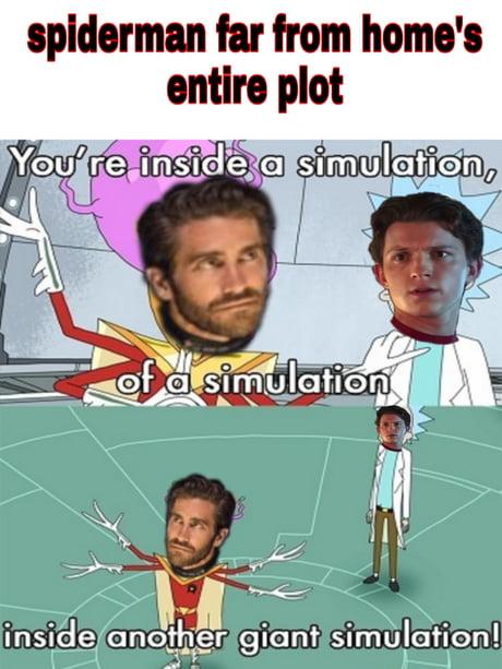 Spiderman Ffh Spoiler Meme 9gag