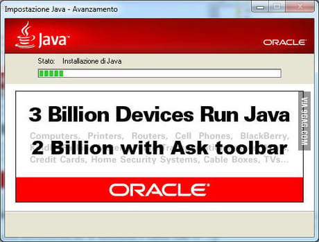 Trolololodev 3 Billion Devices Run Java Facebook