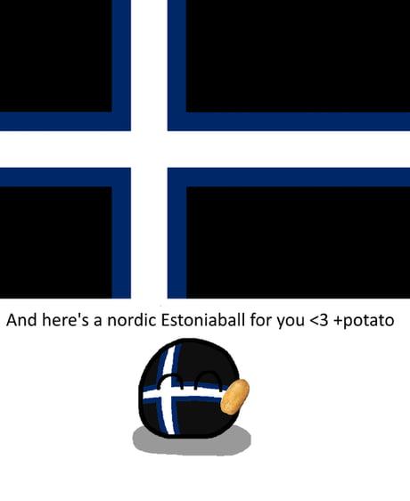 Forever Estonia Polandball