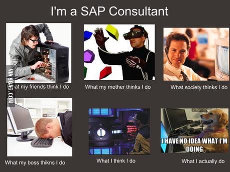 Sap Consultant 9gag