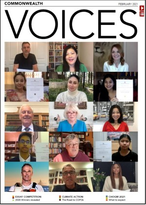 Commonwealth Voices Front Cover