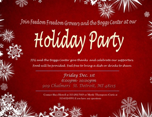 Holiday party final