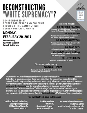 Deconstructing White Supremacy - (8)