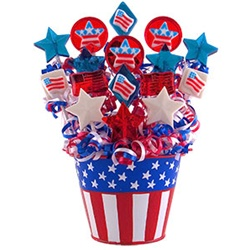 american dream lollipop bouquet