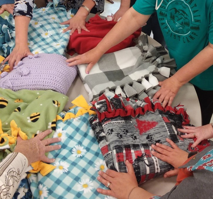 blanket hands