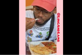 Nigerian Man First Time Tastes Indian Food and His Reaction is Price less