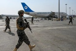Talibans Roam Across Kabul Airport after US Troops Finish their 20 Years Of War Campaign