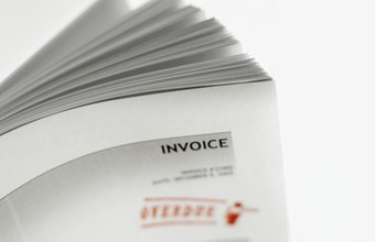 How to Create a Two Page QuickBooks Invoice Template   Chron com QuickBooks templates enable you to use windowed envelopes for invoices