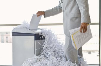 Image result for The shredding of documents