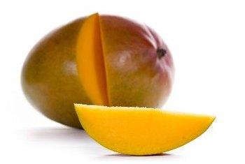Mangoes contain a high amount of the carotenoid compound beta-carotene.