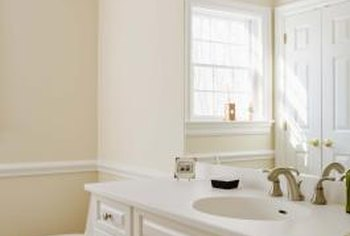 how to prepare bathroom ceiling & walls for paint | home guides