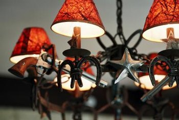How To Re Cover Chandelier Shades A New Shade Can Change The Tone Of Fixture