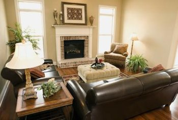 How to Decorate Around an Expensive Leather Couch   Home Guides   SF     Neutral colors are a natural complement to a leather sofa