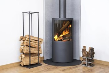 Rustic A Woodburning Could Save You Money While Adding Charm To Your Home