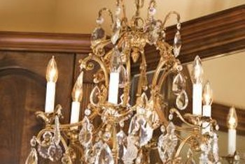 Keep A Crystal Chandelier Sparkling With Regular Cleaning