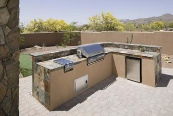 Outdoor Tile Countertops - BSTCountertops