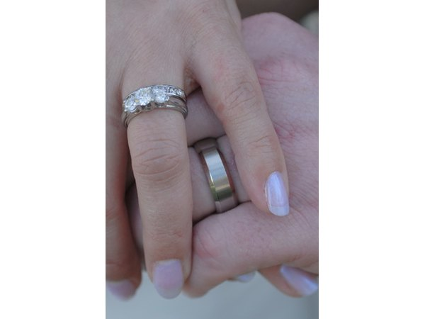 What Is The Purpose Of Three Ring Wedding Ring Sets EHow