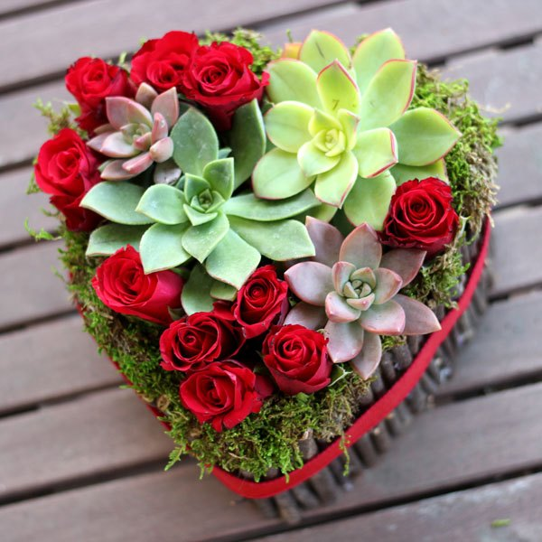 Arranged With Love Beautiful Valentines Day Flowers For