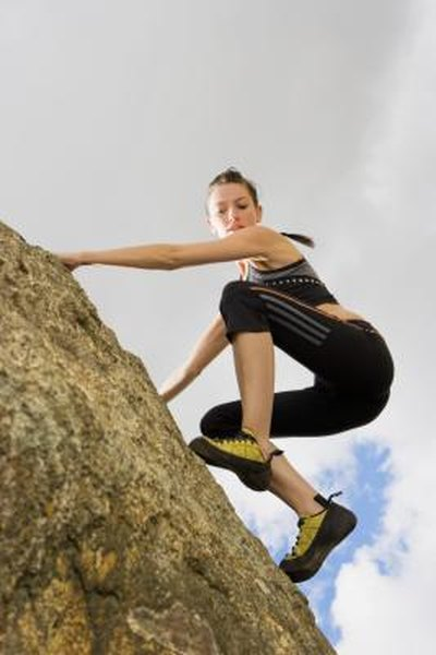 Bouldering Workout Routine Woman