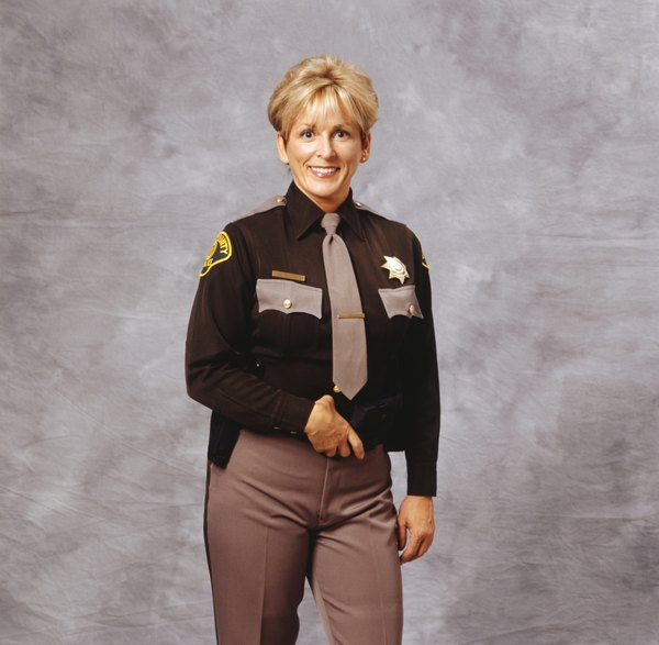 What Are The Ranks In The Sheriff Department Woman