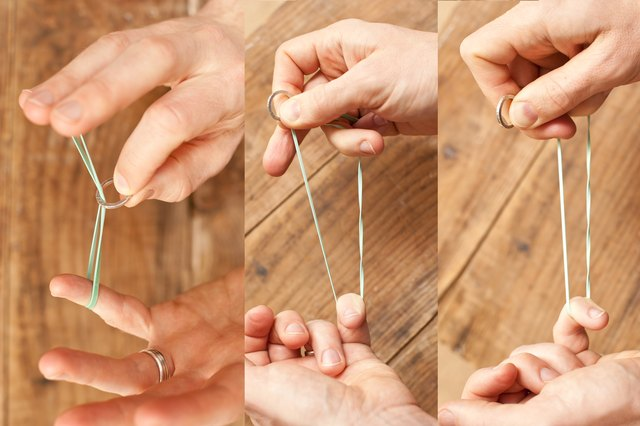 Rubber Band Magic Tricks Revealed (with Pictures)   eHow