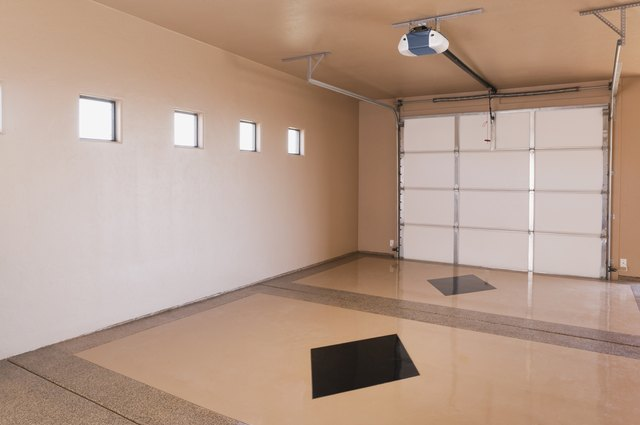 A Large Garage Provides Living E For Up To Two People