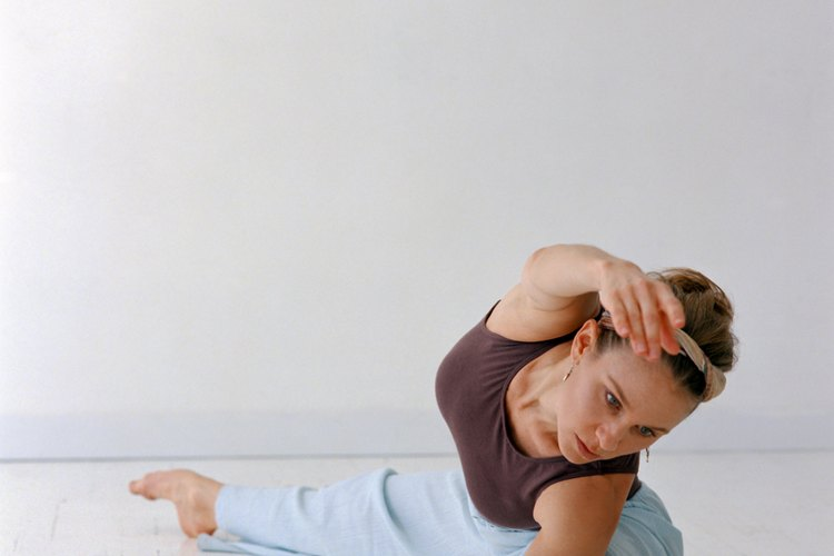 Incorrect positions when practicing yoga can cause pain.