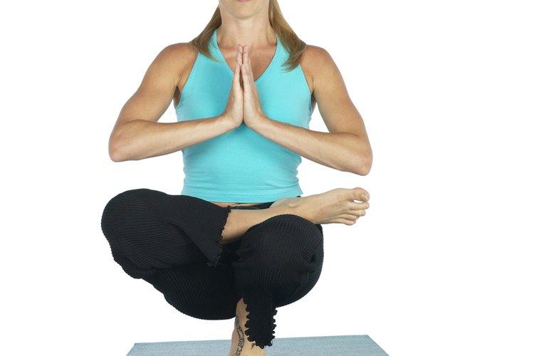 Stretching and yoga improve balance.