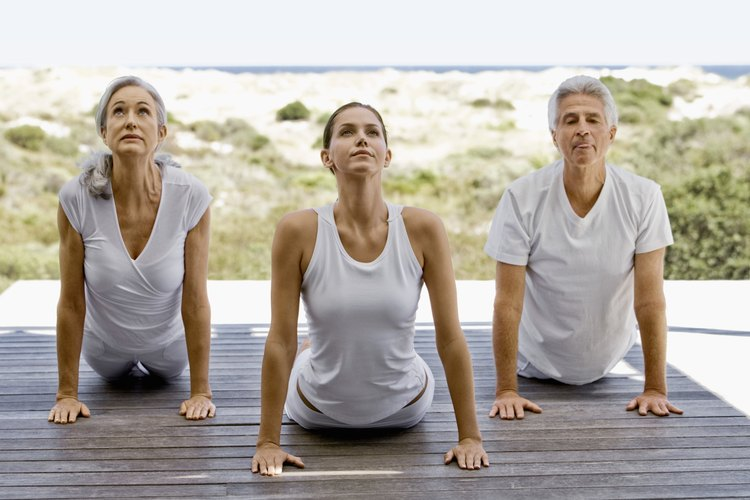 Yoga involves a variety of physical and spiritual teachings.