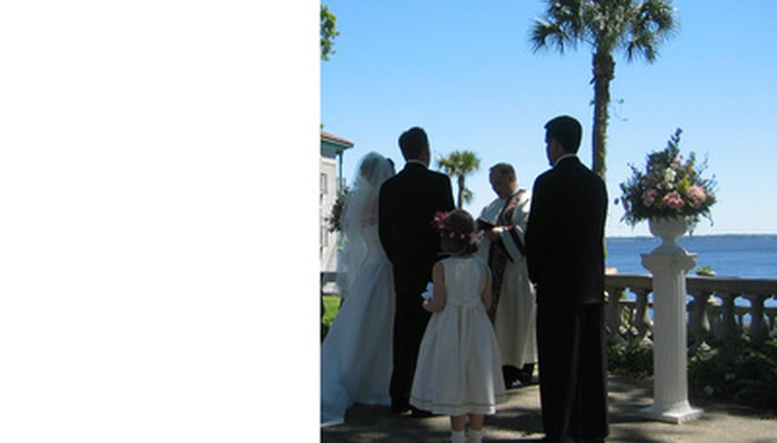 How to Become a Legally Ordained Minister in Georgia   Bizfluent Ordained ministers can perform weddings and other services in Georgia