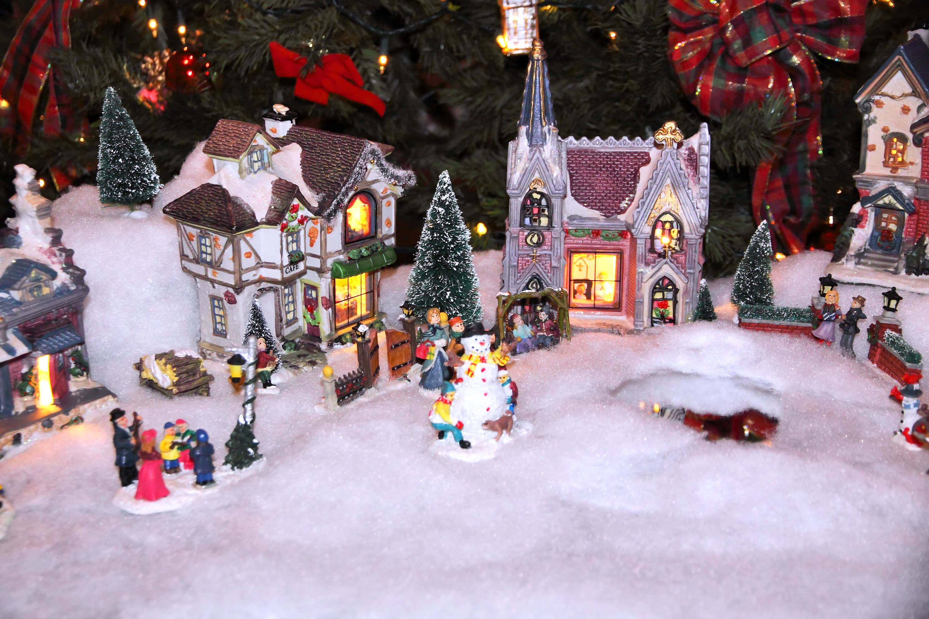 Christmas Village Setup Tips With Pictures EHow