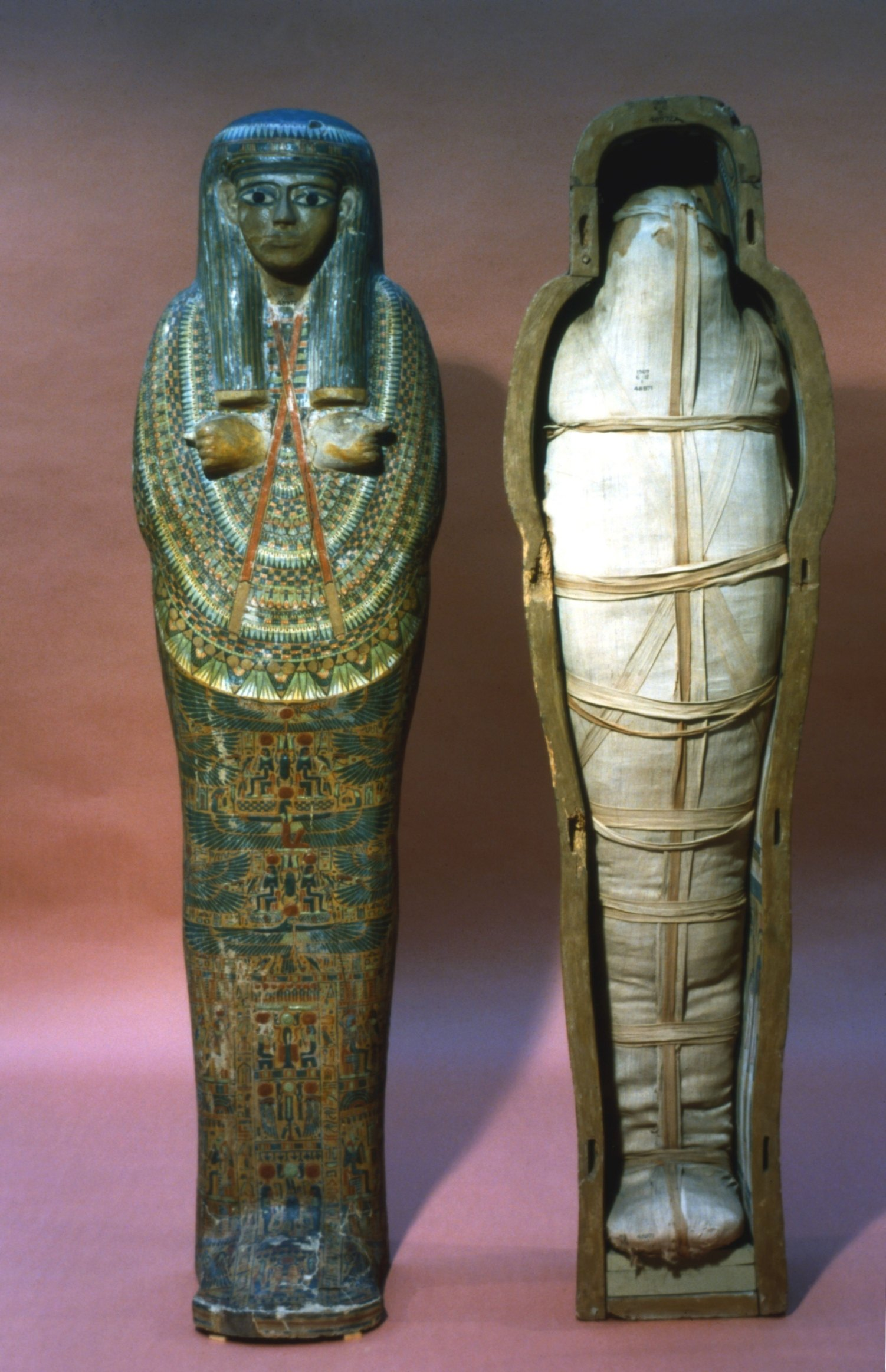 How To Make A 3 D Egyptian Mummy Case