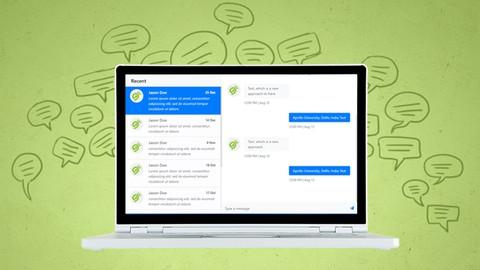 , نظام محادثة Chat System, Laravel & VueJs