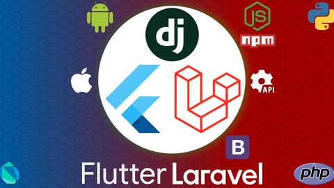 , Crea Widgets en Flutter con una RestApi en Laravel y Django, Laravel & ReactJs
