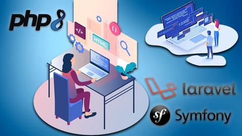 , Programación Web desde 0 con PHP8, Mysql, Laravel y Symfony., Laravel & VueJs