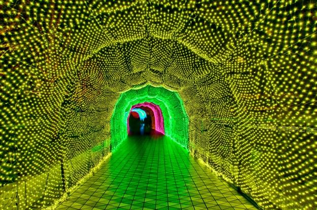 Japan's Glimmering Tunnel of Lights — Spectacular Winter Illuminations 2
