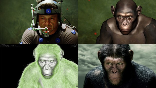 20 Before and After Comparisons of Movie Visual Effects 13