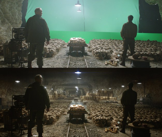 20 Before and After Comparisons of Movie Visual Effects 24
