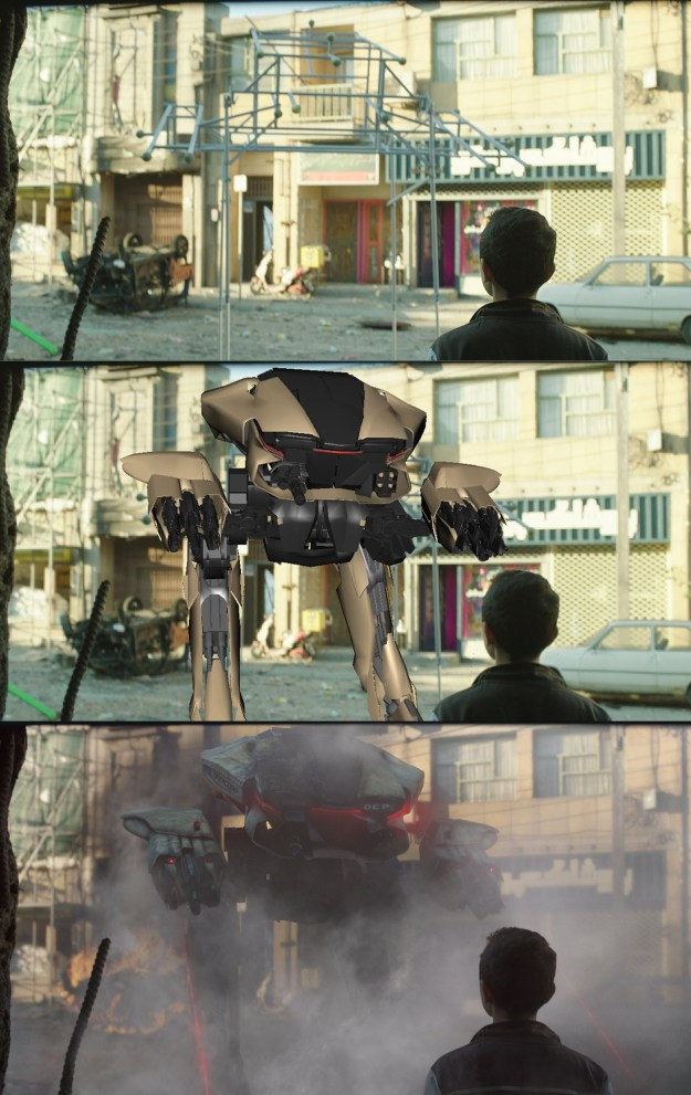 20 Before and After Comparisons of Movie Visual Effects 29