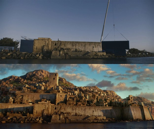 20 Before and After Comparisons of Movie Visual Effects 30