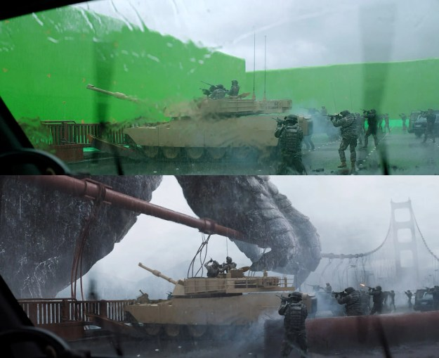 20 Before and After Comparisons of Movie Visual Effects 33