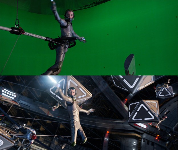 20 Before and After Comparisons of Movie Visual Effects 34