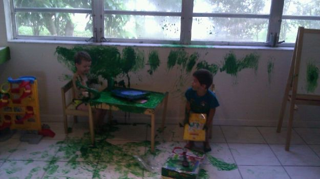 Kids Love Getting Messy – Deal With It! 19