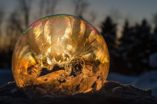 Mysterious Frozen Bubbles By Hope Carter 1