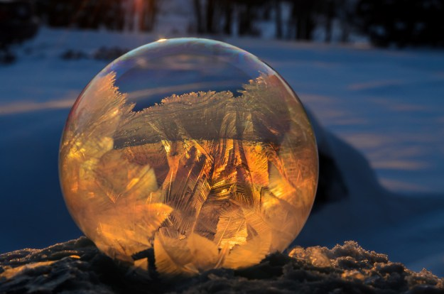 Mysterious Frozen Bubbles By Hope Carter 3