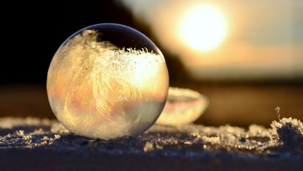 Mysterious Frozen Bubbles By Hope Carter 7
