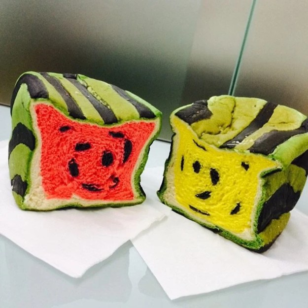 Taiwan's watermelon bread will delight your senses and confuse your tastebuds 13